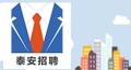 泰安高新区聚智人力资源开发有限公司公开招聘工作人员简章